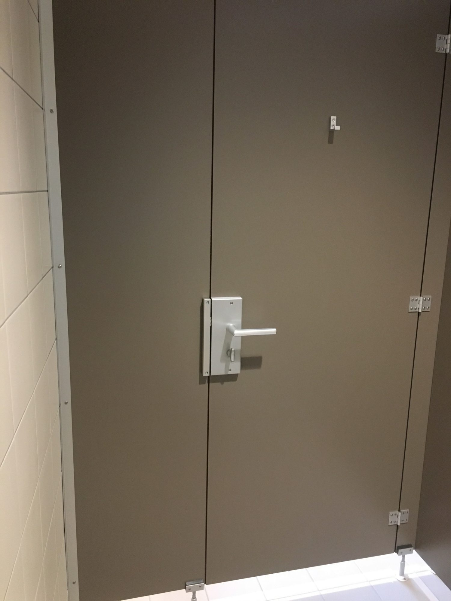 Agencement de cabines de WC